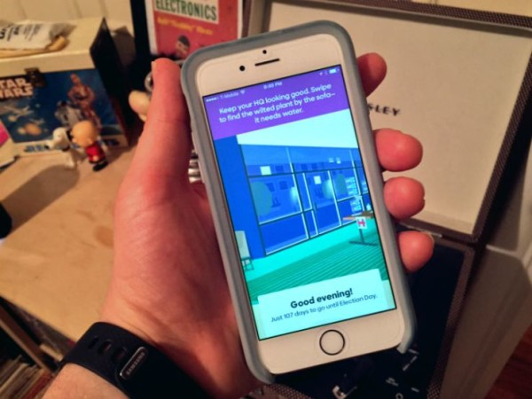 hillary clinton launches app